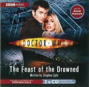 "Doctor Who ""Forever Autumn"" signed by Mark Morris"